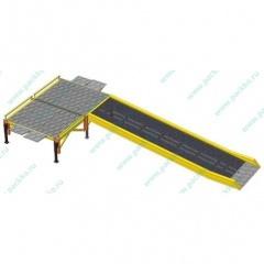 Мобильная рампа передвижная погрузочная эстакада